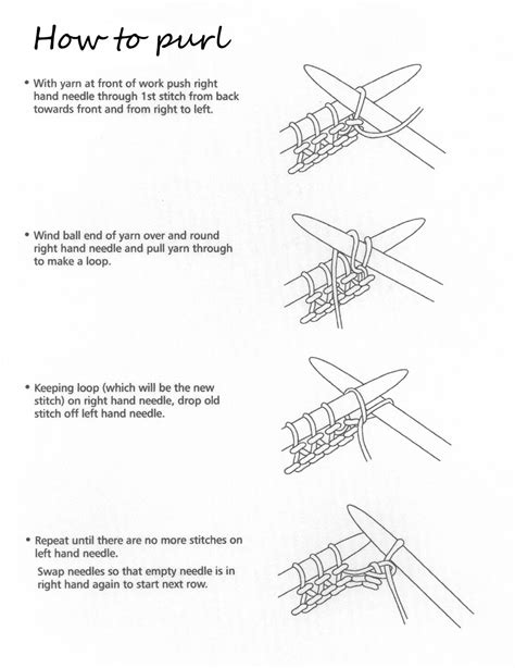 knitting how to how to knit