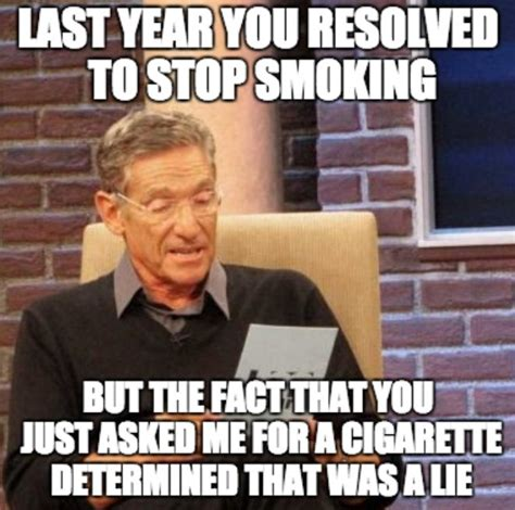 Stop Smoking Meme - 12 new year s resolutions angelenos will decide to make