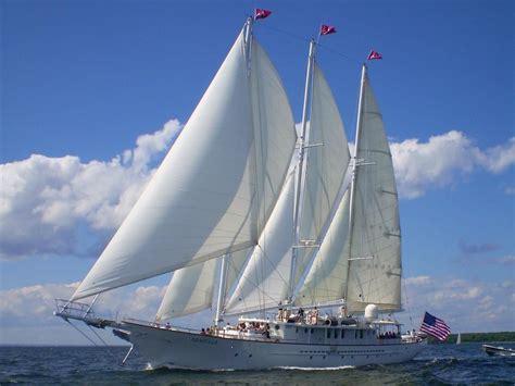 boat brokers new york state 1983 palmer johnson tri masted staysail schooner sail boat