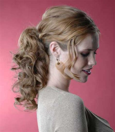 curly ponytail hairstyles haircuts hairstyles 2017 and hair colors 20 party hairstyles for curly hair hairstyles