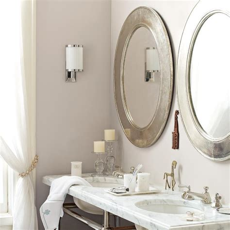 Silver Bathroom Mirrors Silver Bathroom Mirrors Traditional Bathroom Serena