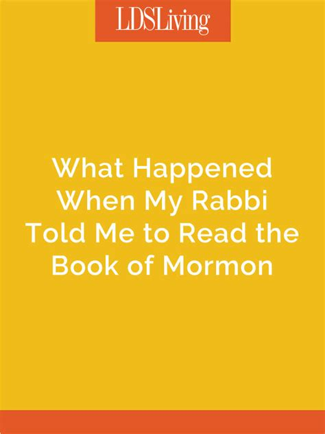 what my told me volume 1 books what happened when my rabbi told me to read the book of