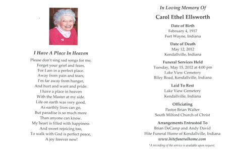 pin 2012 hite funeral home kendallville ind lake view cem