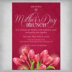 printable s day brunch invitation
