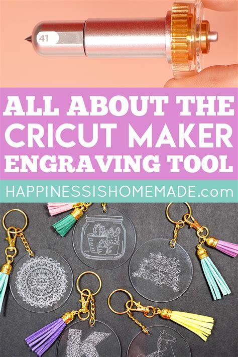 cricut maker engraving tool happiness