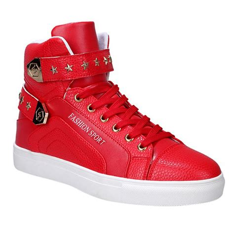 stylish sneakers casual shoes stylish tie up and metal design casual
