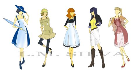 fashion design fashion designs 01 by elleoser on deviantart