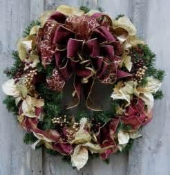 Christmas wreath holiday wreath elegant d 233 cor designer wreath vic