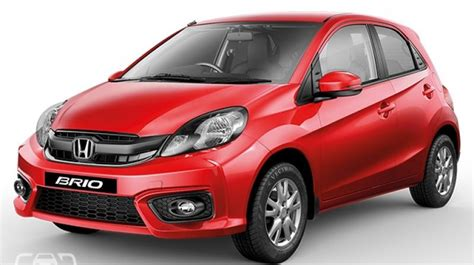 business brio honda launces brio facelift at rs 4 69 lakh