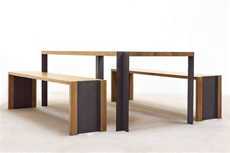 ensemble table et banc ensemble table et bancs f 216 lsom studio