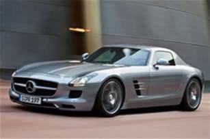 Mercedes SLS supercar revealed   Autocar