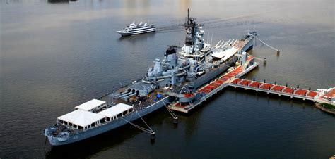 living on a boat in jersey battleship new jersey museum memorial