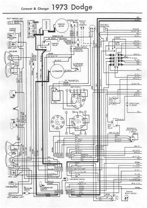 73 dodge charger wiring diagram wiring diagram schemes