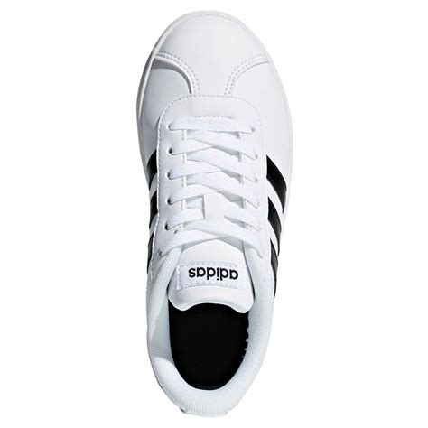 Adidas Vl Court 2 0 Shoes adidas vl court 2 0 k white buy and offers on smashinn