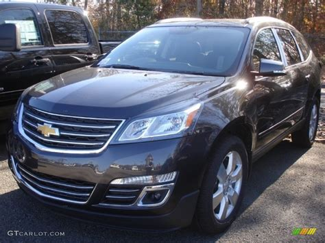 what color is tungsten metallic 2013 tungsten metallic chevrolet traverse ltz awd