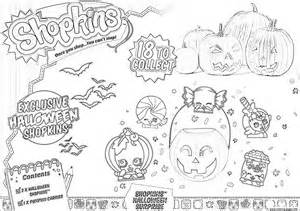 Print shopkins halloween coloring pages free printable