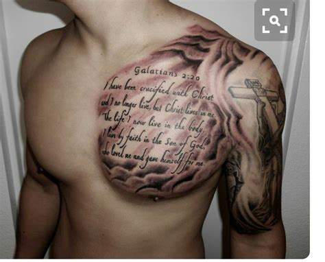 scripture tattoos on chest pin by frank on tattoos ideias de