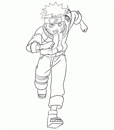 coloring pages fun naruto coloring pages