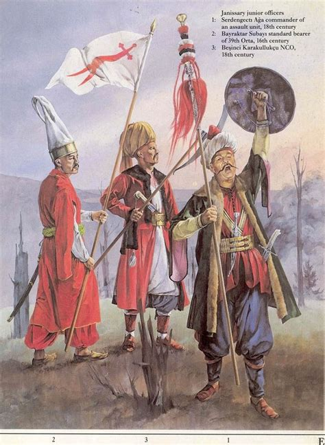 elite corps of ottoman turks janisarys elite ottoman infantry janissaries pinterest