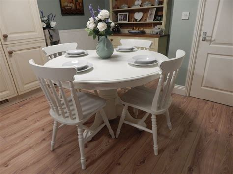 shabby chic farmhouse table lovely shabby chic farmhouse table and 4 chairs sold moonstripe