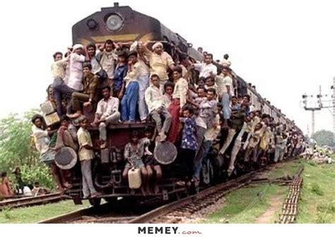 crowded train memey com