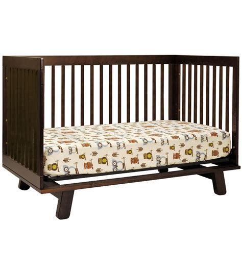 Convertible Crib Bed Babyletto Hudson 3 In 1 Convertible Crib With Toddler Bed Conversion Kit In Espresso Finish