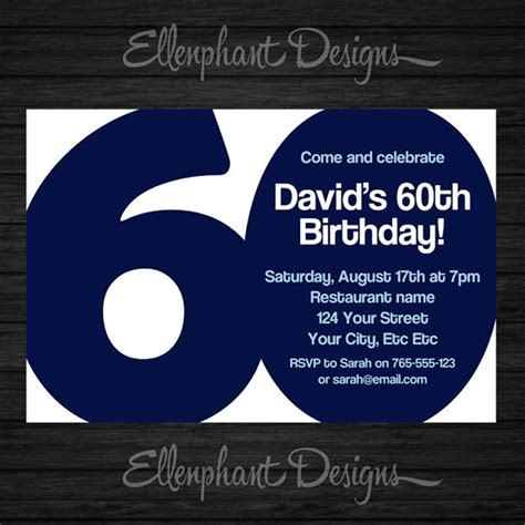 60th birthday invitation templates 20 ideas 60th birthday invitations card templates