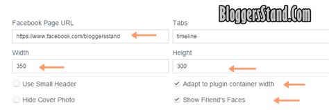 Embed New Facebook Page Plugin In Blogger Template Bloggersstand Width Template Plugin