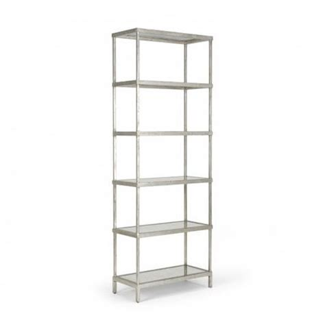 etagere in silber etageres decorative bookcases luxe home philadelphia