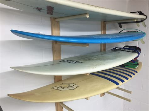 How To Build Surfboard Rack by Build A Surfboard Rack Design Plans Jon Peters Home