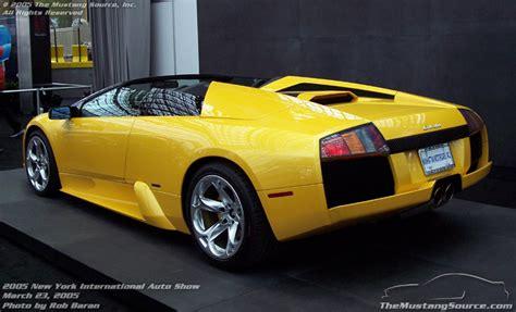 Mustang New York Auto Show by 2005 New York International Auto Show Lamborghini The