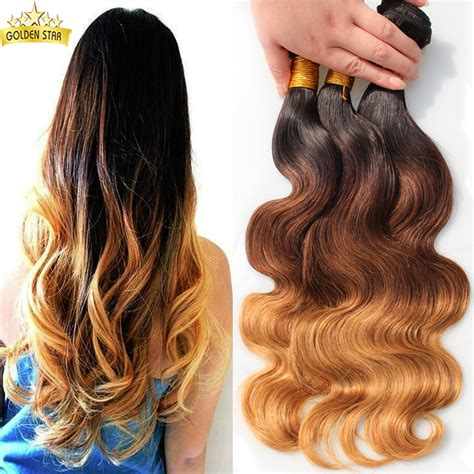 blonde ombre hair weave xuchang aliexpress peruvian body wave ombre hair extension
