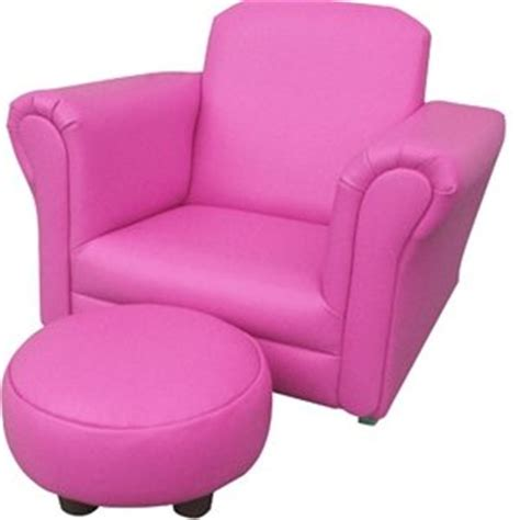 Pink Kids Armchair Pink Pu Leather Rocking Chair Armchair Kids Childrens With