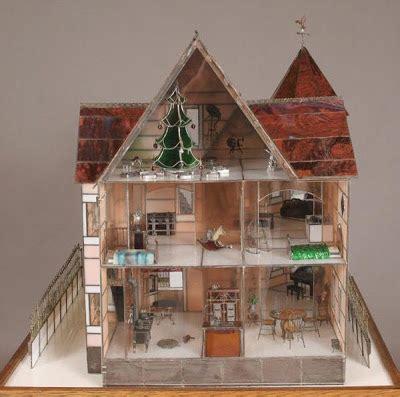 glass doll house dollhouse minis the glass house