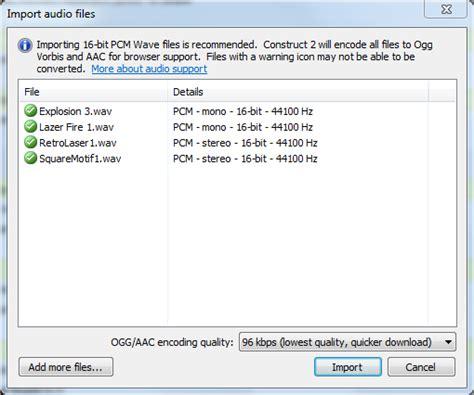 construct 2 audio tutorial adici 243 n de sonido una gu 237 a para principiantes