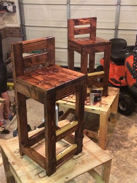 bar stool ideas best 25 pallet bar stools ideas on pinterest pallet