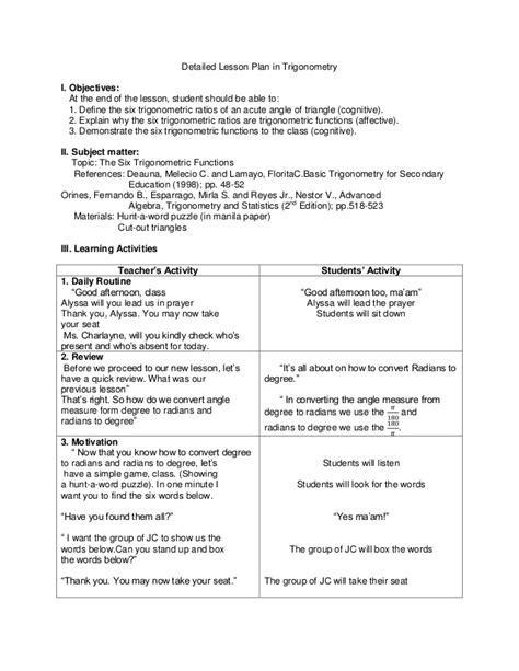 Ubd Template Lesson Plan Ubd Lesson Plan In Araling Panlipunan 3