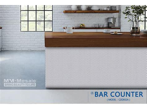 maxed color kitchen backsplash glass tile hot sale popular hot sale fambe glazed ceramic white penny round mosaic