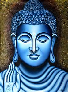 Custom Wall Mural Printing lord buddha painting figurative ind painting by