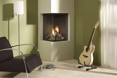 2 Sided Gas Fireplace by Bedroom Furniture Ideas For Small Spaces Modern Corner