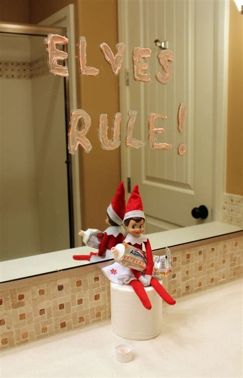 elf on the shelf bathroom 36 best images about elf on a shelf ideas on pinterest