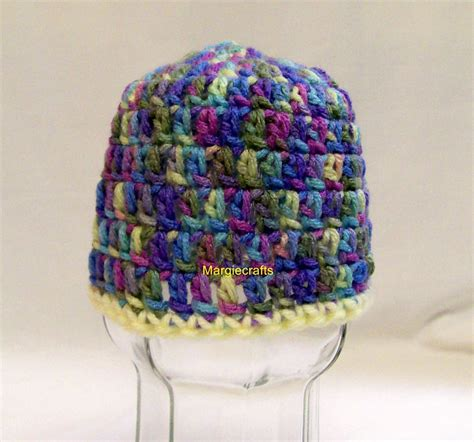 Handmade Crochet Baby Hats - handmade crochet baby hat newborn boy infant