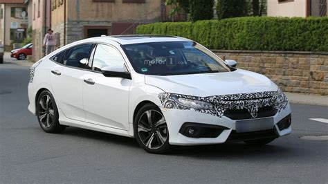honda civic 2017 sedan 2017 honda civic sedan hatchback getting ready for europe