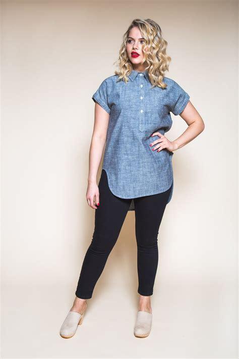 how to sew hidden shirt placket kalle shirtdress pattern kalle shirt shirtdress textillia online sewing