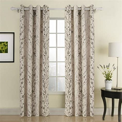 contemporary print curtains twopages contemporary print branches energy saving grommet
