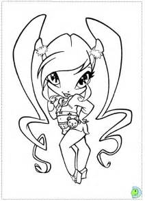 Pixie Coloring Pages free coloring pages of pixie das winx
