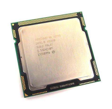 Processor Xeon intel xeon slblf 2 53ghz 8mb socket lga1156 processor ebay