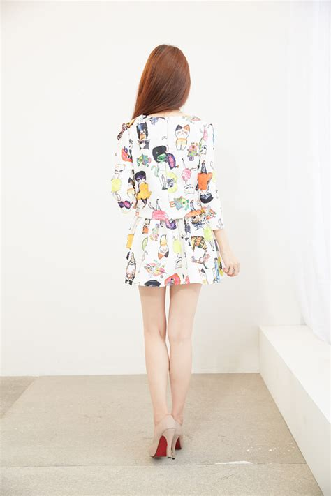 Mm Rok Import 88 000 Import Brukat baju dress wanita korea lucu model terbaru jual murah import kerja