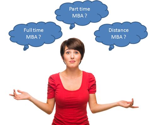 Different Courses In Mba by Time Mba V S Part Time Mba V S Distance Learning Mba