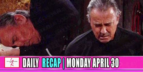 yr recap one night the young and the restless recaps the young and the restless yr recap victor pushes